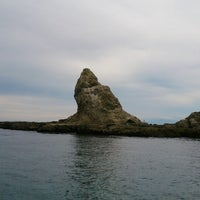 8/24/2014にfm_ t.が烏帽子岩(姥島)で撮った写真