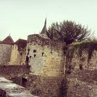 Photo taken at Château de Dourdan by Joel G. on 6/28/2014