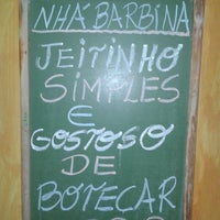 Photo taken at Boteco Nha Barbina by Flavinha F. on 3/27/2014