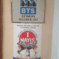 Photo taken at BTS İzmir Şubesi by serhat s. on 4/24/2014