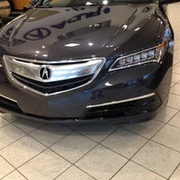 Photo taken at Hubler Acura by Patrick L. on 8/2/2014