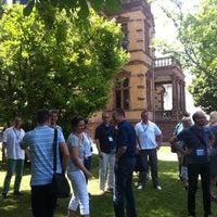 Photo taken at Villa Belgrano by Florian B. on 7/19/2014