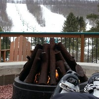 Photo taken at Holiday Valley Resort by Maryna P. on 3/25/2013