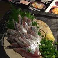 Photo taken at だんまや水産 栄三丁目店 by Makito O. on 12/21/2015
