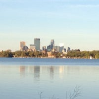 Photo taken at Lake Calhoun by Rob K. on 9/23/2012