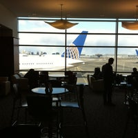 Photo taken at United Club by Gary B. on 2/1/2013