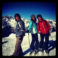 Photo taken at Consorzio Skipass  Paganella by Guido T. on 3/3/2013