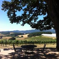 Photo taken at Namaste Vineyards by Erin B. on 7/24/2013