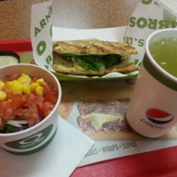 Photo taken at Quiznos by Hendell B. on 2/11/2015