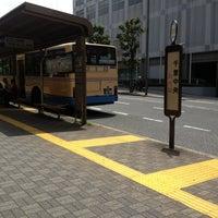 Photo taken at 阪急バス 千里中央バス停 by Kazuyoshi M. on 6/30/2013
