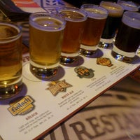 Photo taken at Rock Bottom Restaurant & Brewery by Chris H. on 10/31/2012