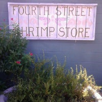 Photo taken at Fourth Street Shrimp Store by Tim R. on 11/1/2012