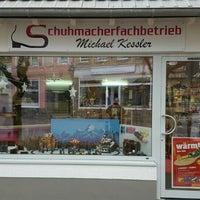 Photo taken at Schuhmacherfachbetrieb Michael Kessler by Stefan S. on 11/27/2016