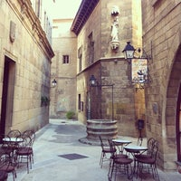 Photo taken at Poble Espanyol by Ксения Г. on 3/20/2013