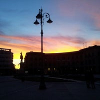 Photo taken at Piazza Vittorio Emanuele II by Giovanni G. on 1/29/2013