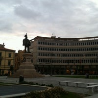 Photo taken at Piazza Vittorio Emanuele II by Giovanni G. on 10/3/2012