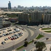 Photo taken at Sharjah Clock Tower by Sergey М. on 2/15/2013