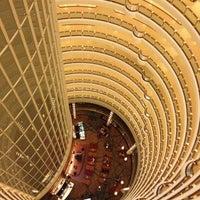 Photo taken at Grand Hyatt Shanghai by Jules S. on 4/16/2013