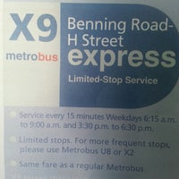 Photo taken at X9 Benning Road H Street Express by Shucky D. on 8/5/2013