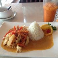 Photo taken at High Thai'd Café by Kimmi A. on 10/1/2013