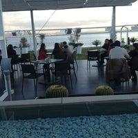 Photo taken at Aquatic Restaurant et Salon de thé by Montassar B. on 1/12/2013