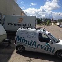 Photo taken at Eventech by Anton B. on 6/21/2014