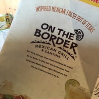 Photo taken at On The Border Mexican Grill & Cantina by Don R. on 5/21/2015