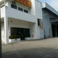 Photo taken at DHL Express Sdn. Bhd. by Ameer H. on 6/14/2016