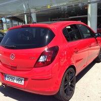 Photo taken at Opel Marcos Motor Murcia by Carla V. on 5/2/2014