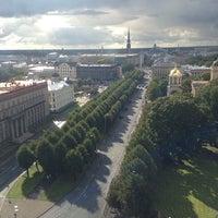 Photo taken at Radisson Blu Latvija Conference & SPA Hotel by 🎉🎁🎊Мишка🎈🎂🎄 on 9/28/2013