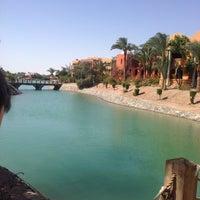 Photo taken at Sheraton Miramar Resort El Gouna by Mary S. on 5/2/2014