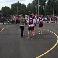 Photo taken at Windsor Gardens Netball Courts by Cherie F. on 9/5/2015