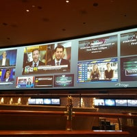 Photo taken at The Mirage Race & Sports Book by bill h. on 2/24/2017