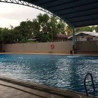 Photo taken at ASRC Swimming pool by Giashin on 8/23/2017