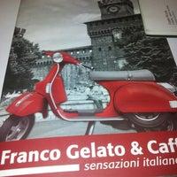 8/25/2013 tarihinde Alouini A.ziyaretçi tarafından Franco Gelato & Caffè'de çekilen fotoğraf