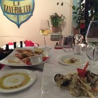 Photo taken at La Tavernetta by Poly P. on 9/19/2014