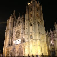 Photo taken at León Cathedral by Toni on 12/27/2012
