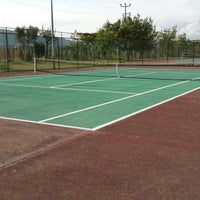 Photo taken at Elmakent Tenis by Cihan Ç. on 8/1/2013