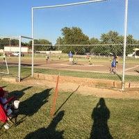 Photo taken at Kids Inc. Softball Felds by Jennifer S. on 9/24/2013