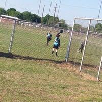 Photo taken at Kids Inc. Softball Felds by Jennifer S. on 4/30/2015