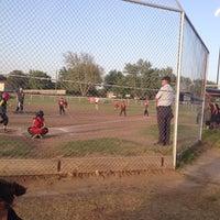 Photo taken at Kids Inc. Softball Felds by Jennifer S. on 4/29/2014