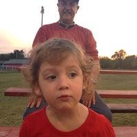Photo taken at Kids Inc. Softball Felds by Jennifer S. on 9/26/2014