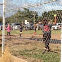 Photo taken at Kids Inc. Softball Felds by Jennifer S. on 10/2/2014