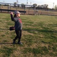 Photo taken at Kids Inc. Softball Felds by Jennifer S. on 4/16/2014