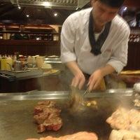 Photo taken at Sakura Japanese Steak, Seafood House & Sushi Bar by Hany O. on 2/12/2013