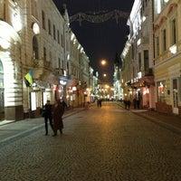 Снимок сделан в Улица Ольги Кобылянской пользователем God.mod T. 3/8/2013