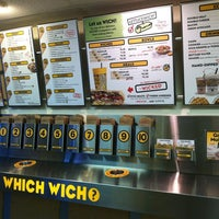 Photo taken at Which Wich Superior Sandwiches by Jacob A. on 11/2/2012