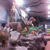 Photo taken at Динозаврия by Olga D. on 1/27/2013