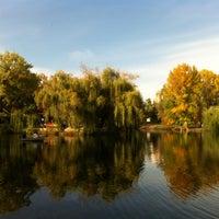 Photo taken at Городской парк культуры и отдыха им. М. Горького by Serge J. on 10/5/2012