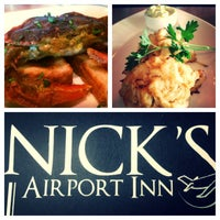Photo taken at Nick's Airport Inn by Portia M. on 5/23/2013